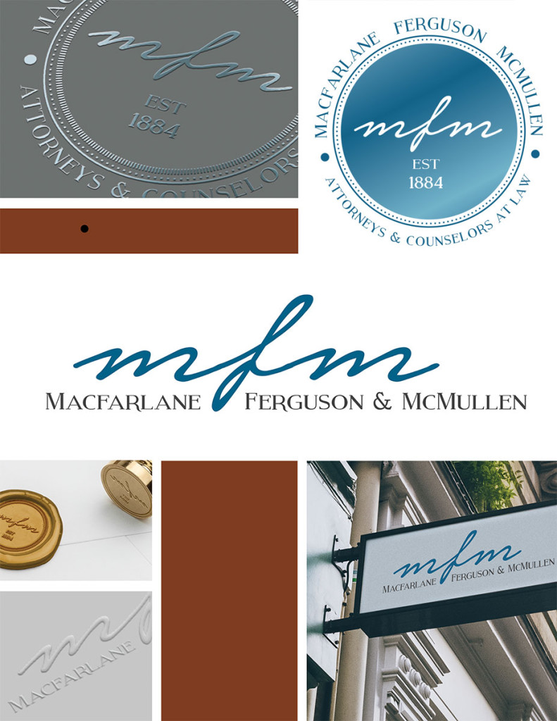 mfm legal logo redesign
