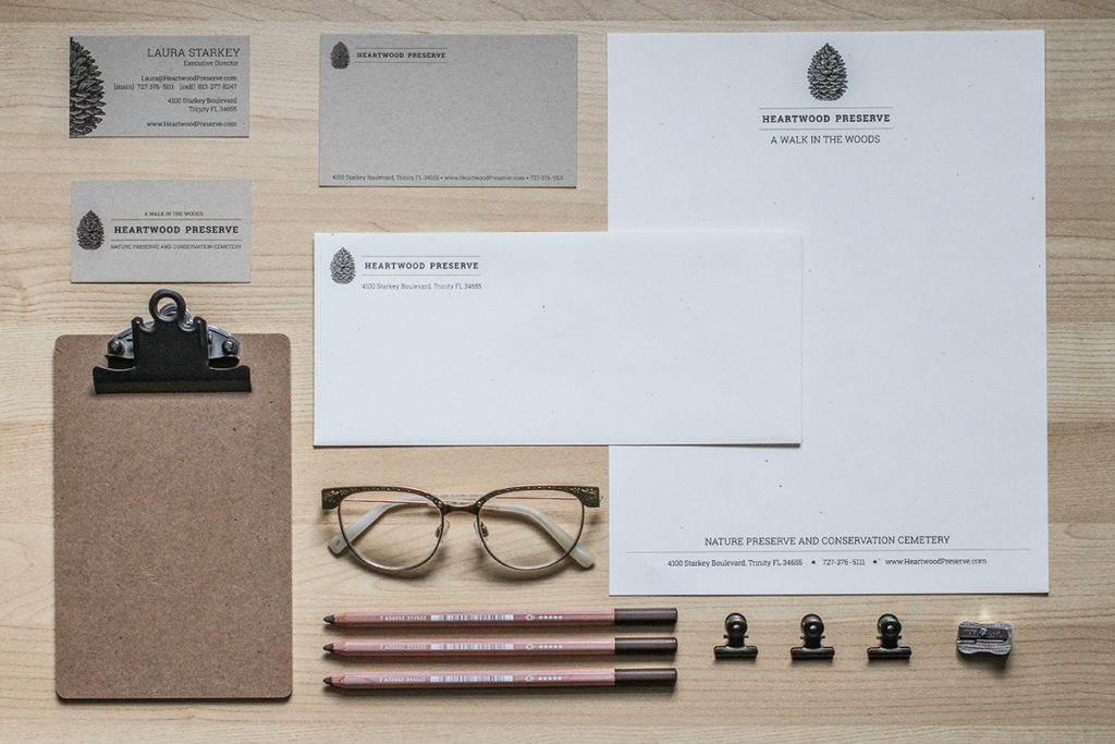 stationery suite design branding