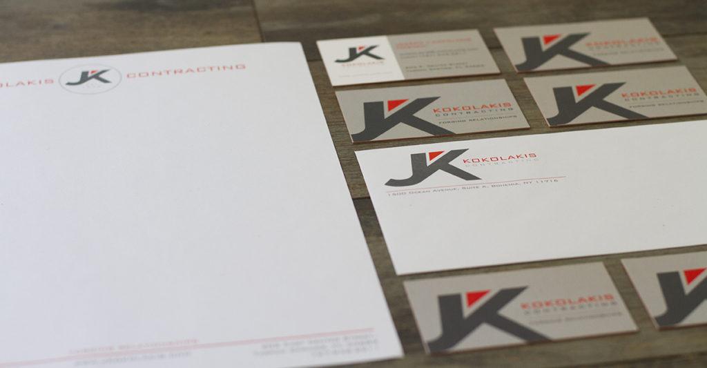 kokolakis contracting logo design