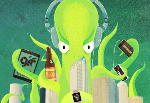 Tampa Bay advertising agency, Gasparilla Interactive Festival