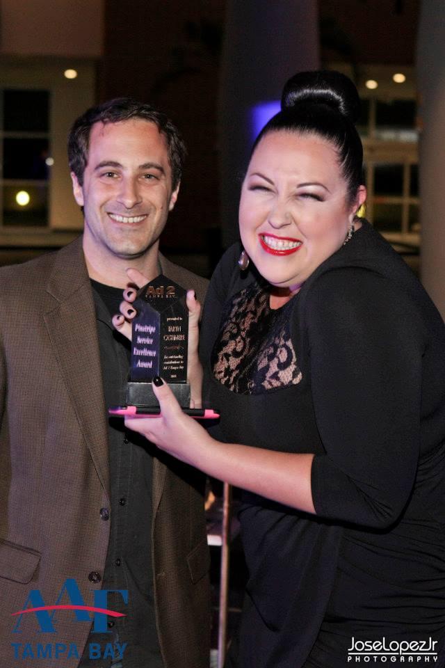 Pinstripe Marketing Service Excellence Award 2014