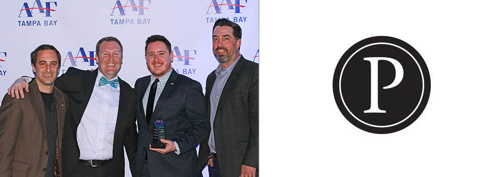 Pinstripe Service Excellence Award, Ad 2 Tampa Bay, young professional of the year