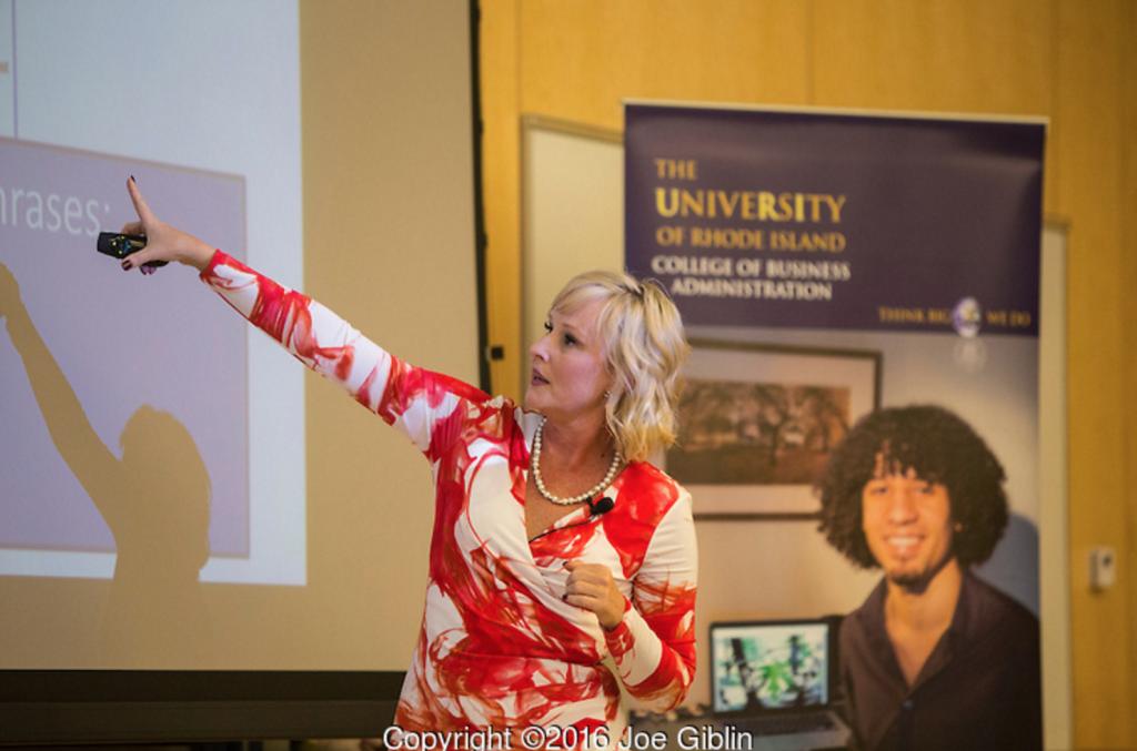 Bobbie Shay Lee, 2016 Vangermeersch Lecturer
