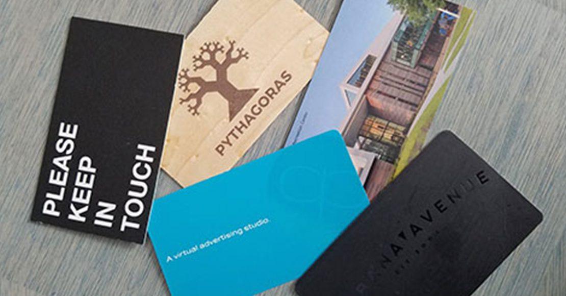 business card design - Tampa Bay Florida