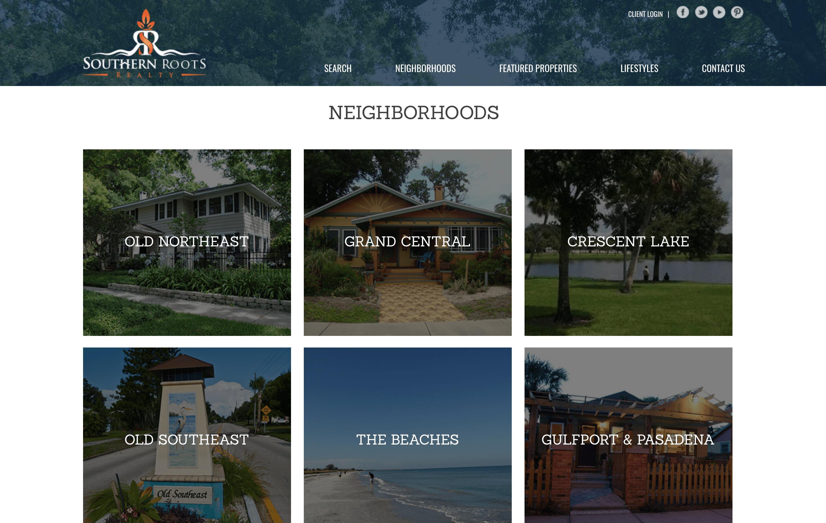 southern roots website design blog