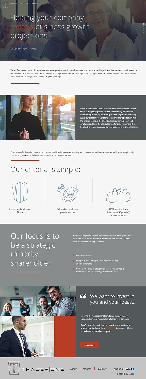 marketing website design HOMEPAGE copy