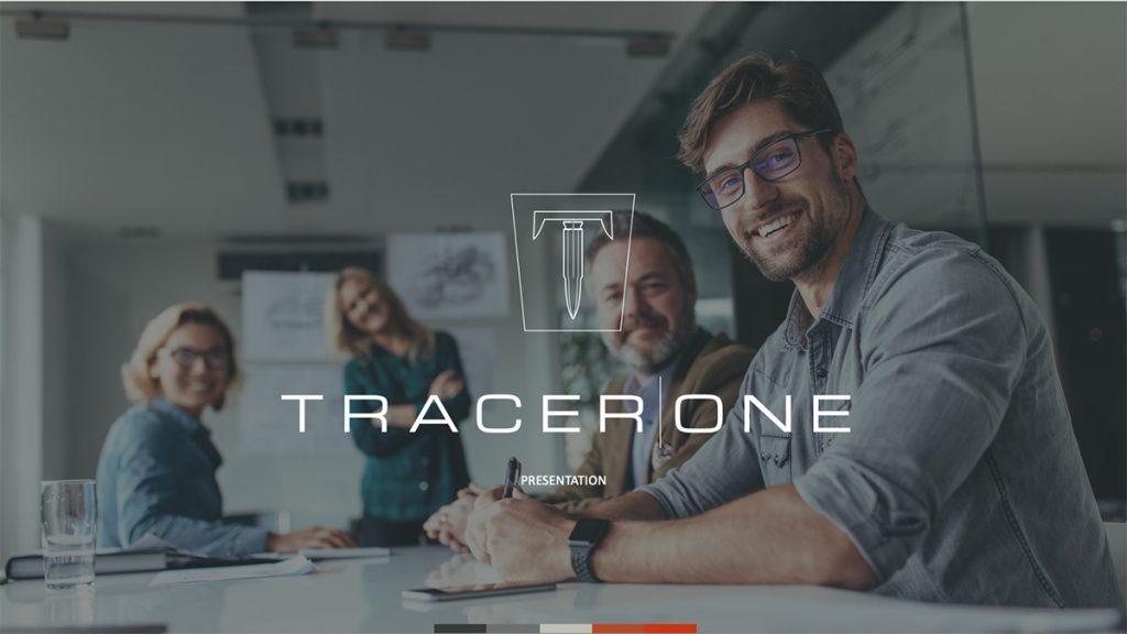 tracerone powerpoint presentation deck design
